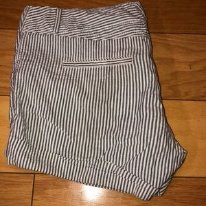 Maurices Shorts - Maurice's striped shorts